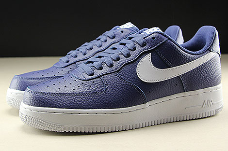 Nike Air Force 1 Low Blue Recall White Profile