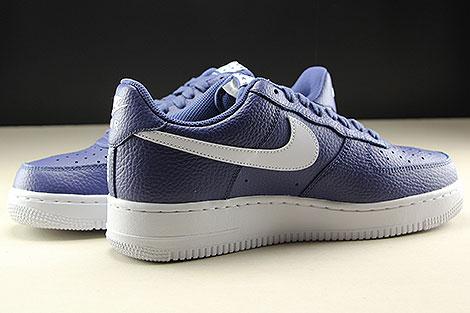 Nike Air Force 1 Low Dunkelblau Weiss Innenseite