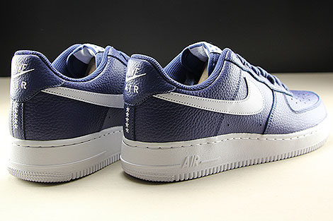 Nike Air Force 1 Low Blue Recall White Back view
