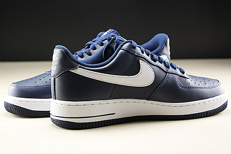Nike Air Force 1 Low Midnight Navy White Inside