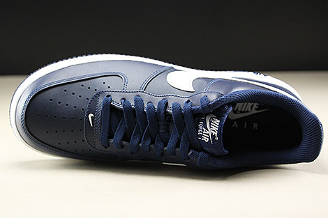 Nike Air Force 1 Low Midnight Navy White Over view
