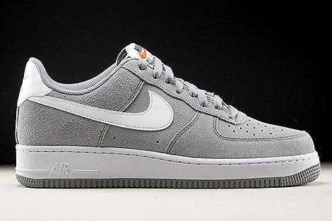 Nike Air Force 1 Low Grau Weiss