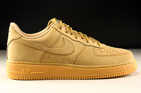 Nike Air Force 1 Low WB Flax Gum Light Brown AA4061-200 - Purchaze 5dc4264ff