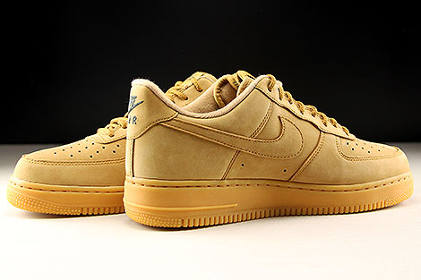 Nike Air Force 1 Low WB Hellbraun Innenseite