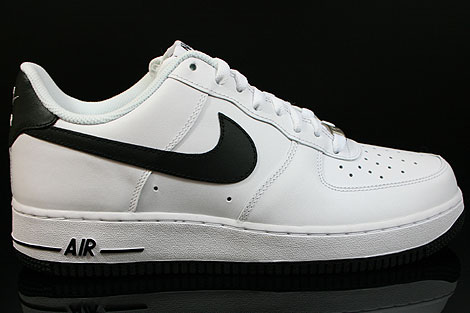 nike air force one schwarz low