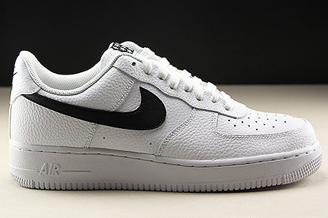 Nike Air Force 1 Low White Black Right