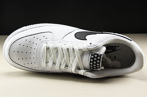 Nike Air Force 1 Low White Black Over view