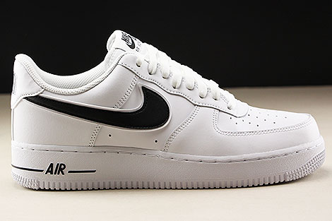 Nike Air Force 1 Low White Black Rechts
