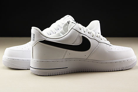 Nike Air Force 1 Low White Black Innenseite