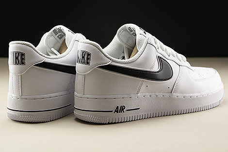 Nike Air Force 1 Low White Black Rueckansicht