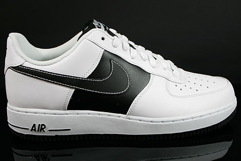 Nike Air Force 1 Low Weiss Schwarz Weiss
