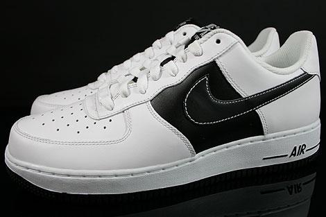 Nike Air Force 1 Low White Black White Profile