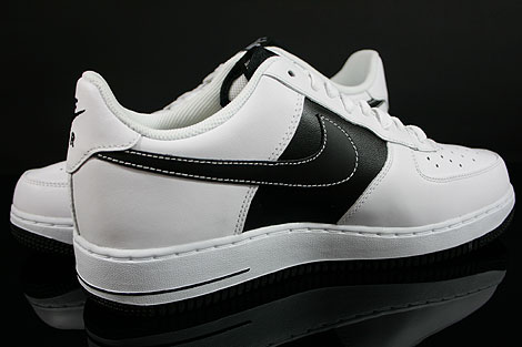 Nike Air Force 1 Low White Black White Inside