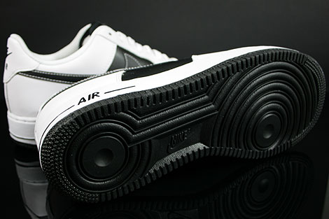 Nike Air Force 1 Low White Black White Outsole