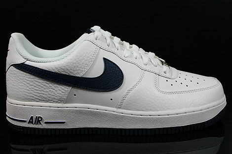 Nike Air Force 1 Low Weiss Dunkelblau