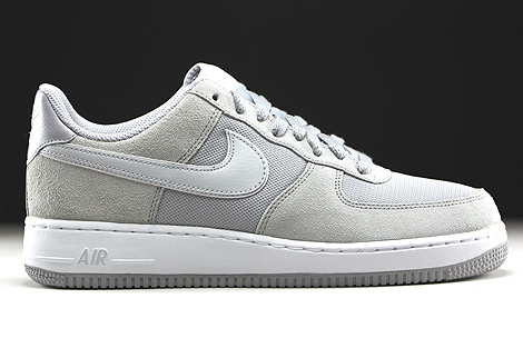 Nike Air Force 1 Low Hellgrau Beige Weiss