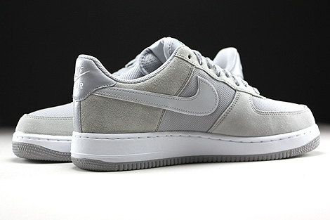 Nike Air Force 1 Low Hellgrau Beige Weiss Innenseite