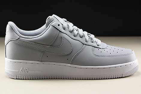 check out d90ff 206d4 ... Nike Air Force 1 Low Wolf Grey White Right ...