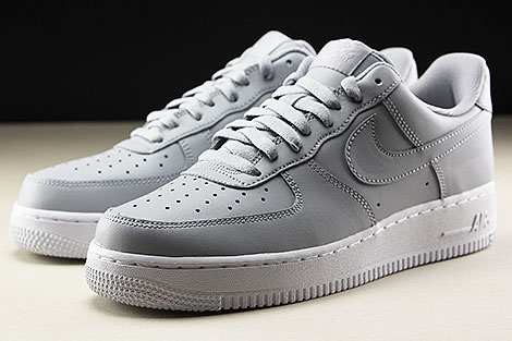 Nike Air Force 1 Low Wolf Grey White Seitendetail