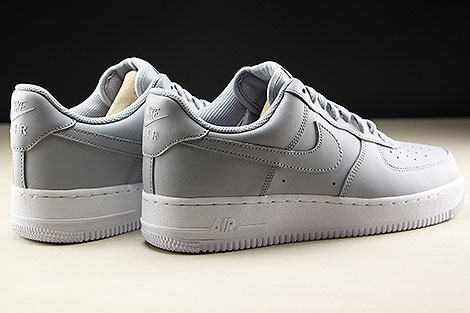 Nike Air Force 1 Low Wolf Grey White Rueckansicht