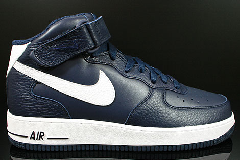 nike air force 1 mid obsidian