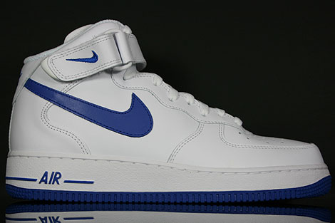 Nike Air Force One Weiß Blau