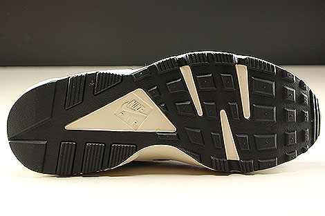 Nike Air Huarache Run Premium Anthracite Black Light Bone Outsole