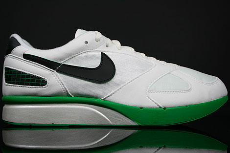 Nike Air Mariah Metallic White Black Lucky Green