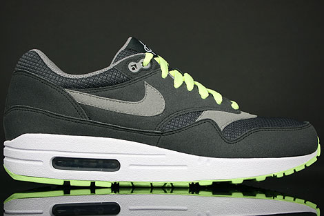 Nike Air Max 1 Anthracite Charcoal Lime White