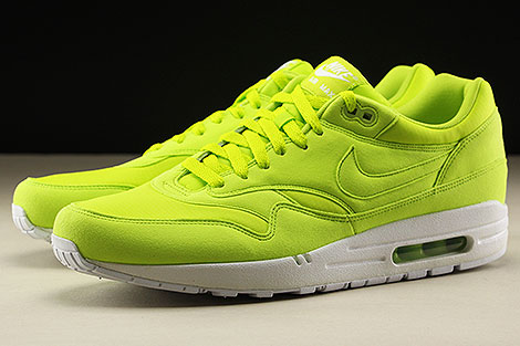 Nike Air Max 1 Atomic Green White Sidedetails