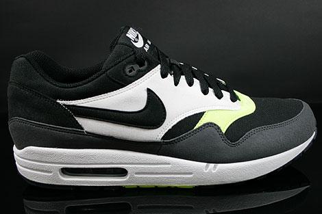 Nike Air Max 1 Black Anthracite Volt White