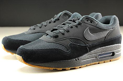Nike Air Max 1 Black Black Black Seitendetail