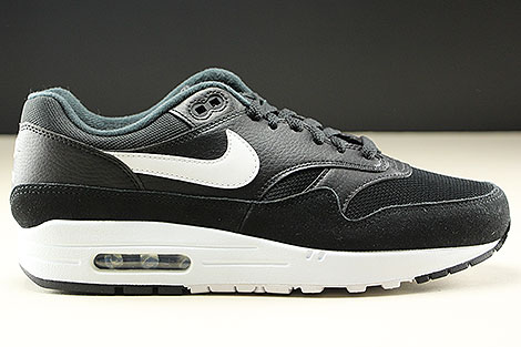 Nike Air Max 1 Black White Rechts