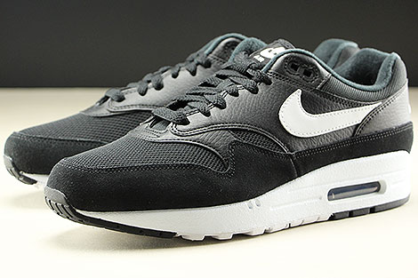 Nike Air Max 1 Black White Seitendetail