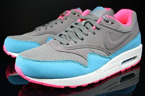 Nike Air Max 1 Essential Dark Dune Catalina Hyper Punch Sidedetails