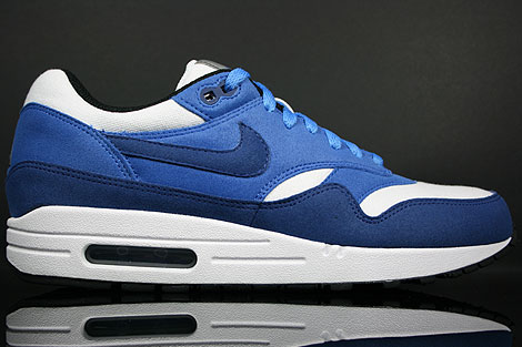 Nike Air Max 1 Deep Royal Varsity Royal White