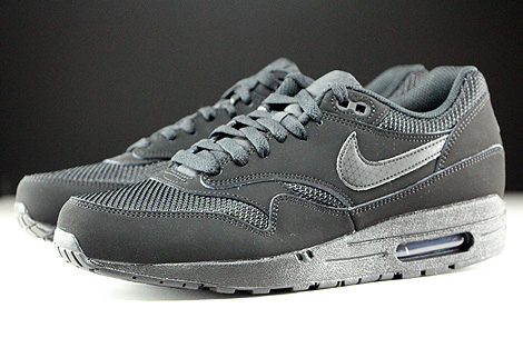 Nike Air Max 1 Essential Schwarz Seitendetail
