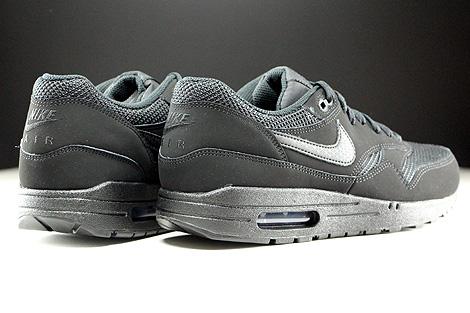 Nike Air Max 1 Essential Schwarz Rueckansicht