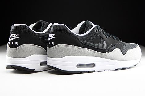 air max 1 essential schwarz grau
