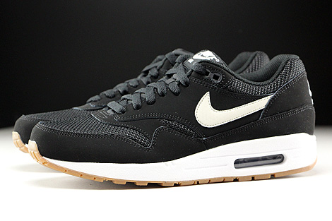 shop nike air max 1 black light bone white 85635 71705