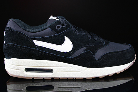 the best attitude da315 3da3c Nike Air Max 1 Essential Black Sail Black Gum Light Brown