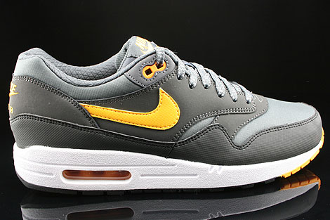 Nike Air Max 1 Essential Dunkelgrau Orange Anthrazit Schwarz