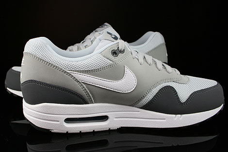 Nike Air Max 1 Essential Dark Grey White Silver Pure Platinum Inside