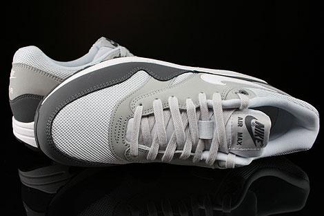 Nike Air Max 1 Essential Anthrazit Grau Weiss Schwarz Oberschuh