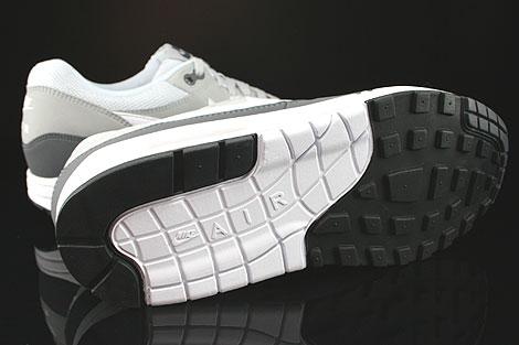 Nike Air Max 1 Essential Anthrazit Grau Weiss Schwarz Laufsohle