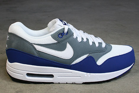 Nike Air Max 1 Essential Royal Blue White Armory Slate Black