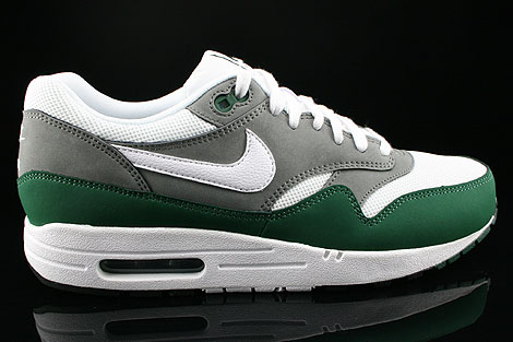 Nike Air Max 1 Essential White Mercury Grey Gorge Green