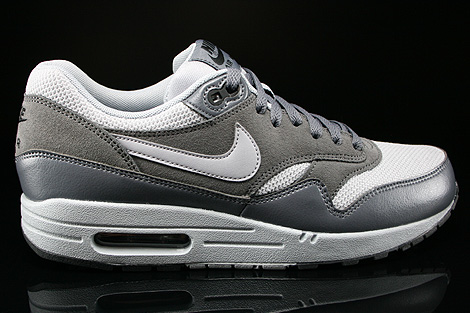 Nike Air Max 1 Essential Wolf Grey Wolf Grey Dark Grey Right