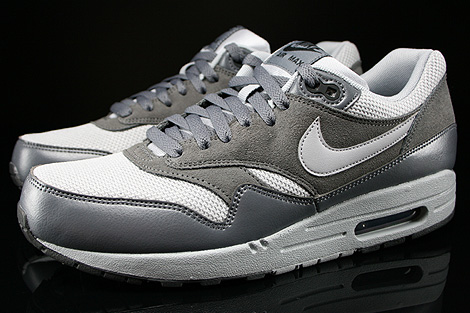 Nike Air Max 1 Essential Wolf Grey Wolf Grey Dark Grey Profile