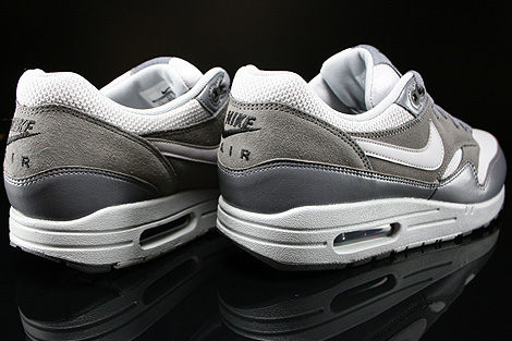 Nike Air Max 1 Essential Wolf Grey Wolf Grey Dark Grey Back view
